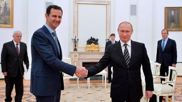 Путин иСиси обсудили ситуацию вСирии