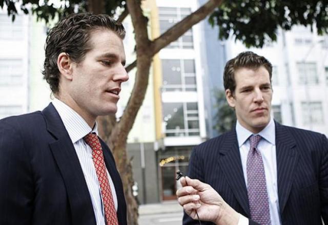 Братья Уинклвосс стали первыми вмире биткоиновыми миллиардерами