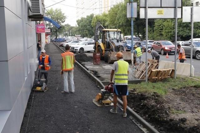 К 2025г.  вКраснодаре приведут внорму 85% дорог