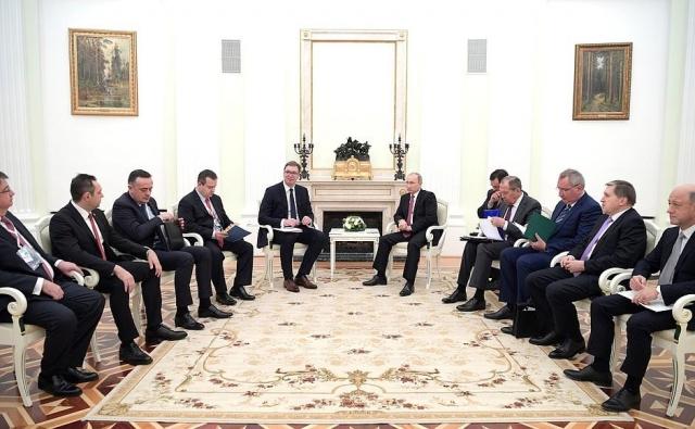 Президенты РФ иСербии встретятся в российской столице