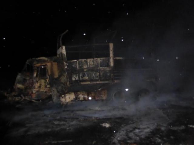 ВКалмыкии столкнулись два фургона