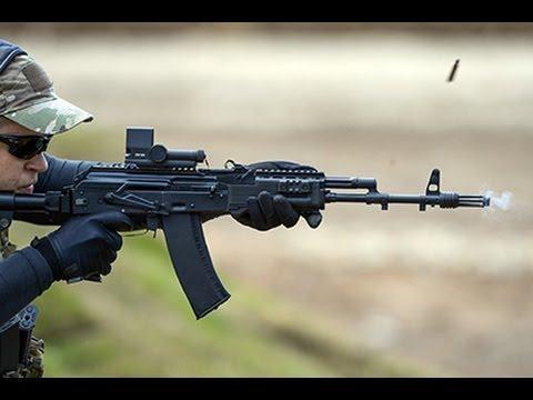 Автоматы АК-12 иАК-15 приняты навооружение