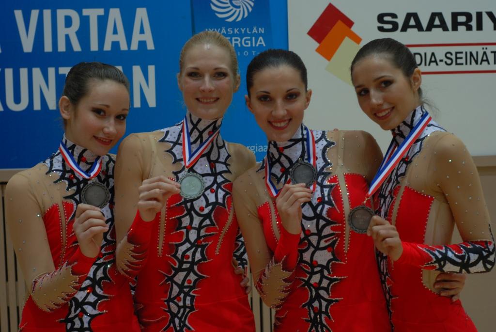 Обладательницы серебряных медалей этапа Кубка мира