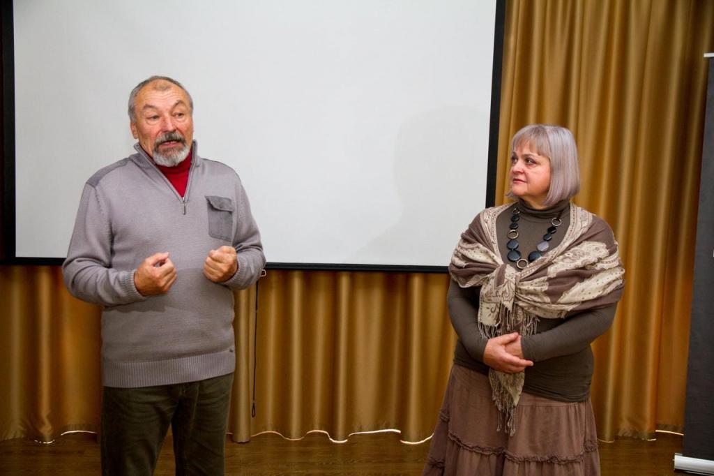 Нина и Владимир Никифоровы