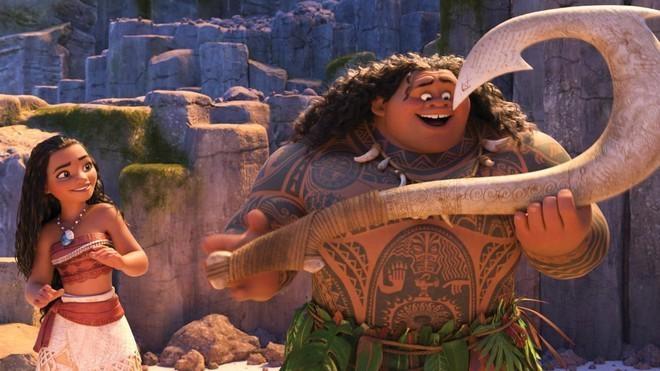 Мауи и волшебный крюк