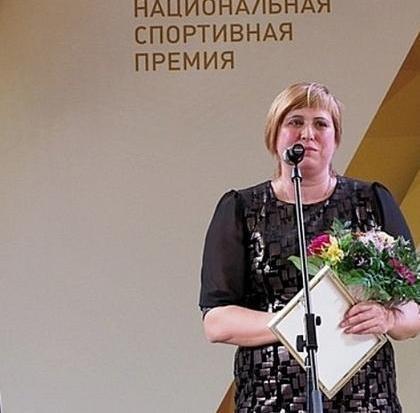 Замдиректора центра паралимпийской подготовки Кубани, мастер спорта международного класса Оксана Тучак