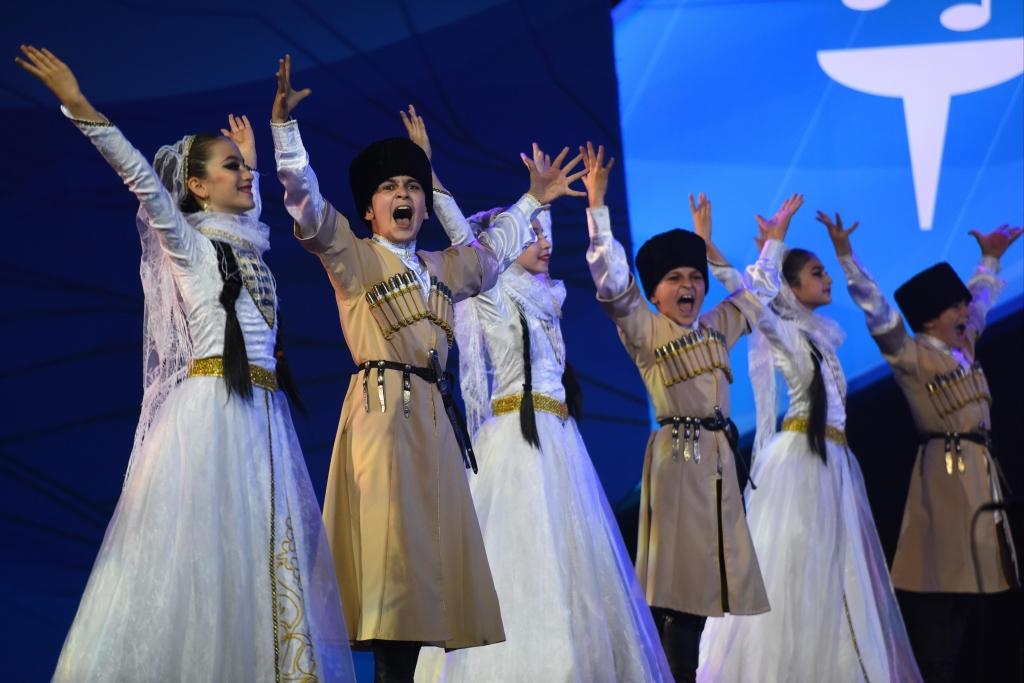 Коллектив из Дагестана