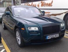"""Rolls-Royce готовит седан Ghost с """"умной"""" подвеской"""