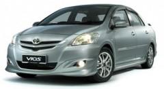 Toyota выпускает седан Vios на рынок Малайзии