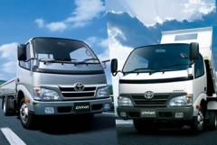 Toyota модернизировала гибридные грузовики Dyna и ToyoAce