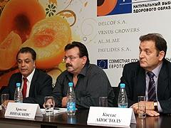 Краснодар атакуют греческие персики