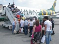 В День России «Боинг 737-300» авиакомпании «Кубань» совершил первый рейс