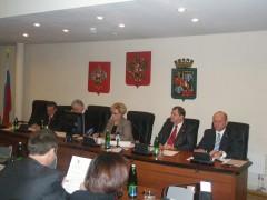 Вера Галушко провела первое самостоятельное заседание гордумы Краснодара