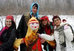 Запуск сети МТС в селе Алексеевском совпал с масленичными гуляньями