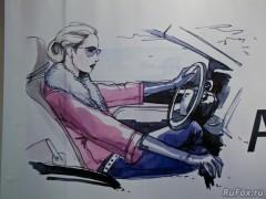 Автопробег «Дамы рулят» в Краснодаре