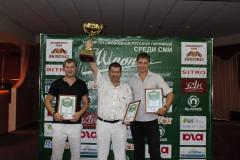 В Краснодаре завершилась серия турниров по бильярду среди СМИ