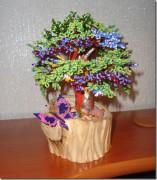 схемы изготовления цветов из бисера. бисероплетение для начинающих онлайн.