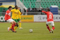 В последнем матче сезона «Кубань» сыграла вничью с московским «Спартаком»