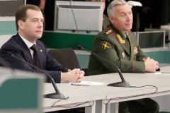 Медведев посетил штаб-квартиру Главного разведывательного управления