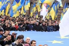 В Киеве около 300 человек продолжают митинговать на Майдане