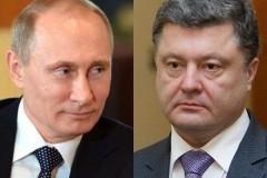 Путин обсудил по телефону с Порошенко вопросы урегулирования кризиса на юго-востоке Украины