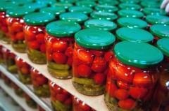 На Кубани произведен рекордный для России миллиард банок плодоовощных консервов