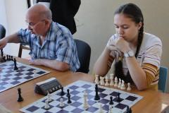 В Невинномысске состоялся темпо-турнир по шахматам, посвященный Отечеству и Победе