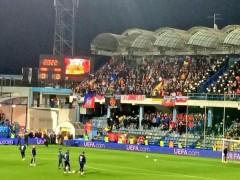 Российская сторона подала протест в УЕФА из-за того, что матч с Черногорией не был остановлен