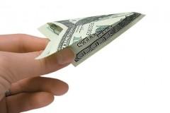Доллар после вчерашнего роста начал снижаться