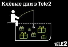 «Киберпонедельник» в интернет-магазине Tele2