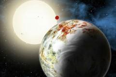 Телескопа Kepler обнаружил планету, которой не может быть