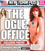 Голая жена Дональда Трампа появилась на обложке The New York Post