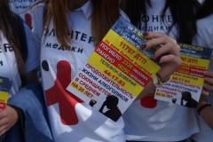 Волонтеры-медики раздали в Нальчике 15 тысяч антиалкогольных листовок