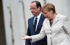 Меркель и Олланд хотят продлить антироссийские санкции