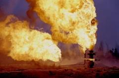 В Оренбургской области произошло возгорание на газонефтяной скважине