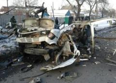 В Донецке прогремел взрыв в микроавтобусе