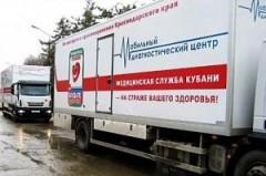 В 2016 году автопоезд «Диспансеризация» совершил 43 выезда в населенные пункты Кубани
