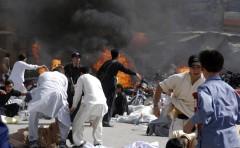 Взрыв на овощном рынке в Пакистане: погиб 21 человек