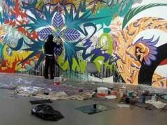 В Сочи появится стена для граффити
