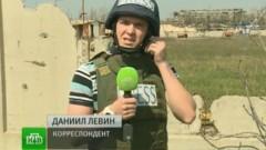 В Донбассе журналисты НТВ попали под обстрел в Макеевке