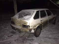 Задержан житель Калмыкии, протаранивший полицейский и гражданский автомобили