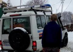Сочинские спасатели транспортировали пострадавшую из п. Верхний Юрт