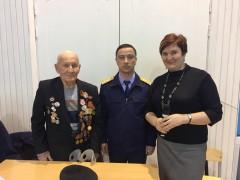 В Сочи в преддверии Дня защитника Отечества руководитель следственного отдела посетил гимназию