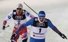 Россияне Крюков и Устюгов завоевали золото ЧМ по лыжным гонкам