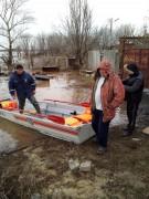 Жители Заветинского района Дона были эвакуированы спасателями из-за подтопления