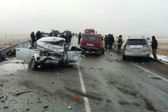 Массовое ДТП в Хакасии унесло жизни трех человек