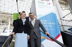 Вице-премьер Ольга Голодец посетила экспозицию Краснодарского края на РИФе-2017