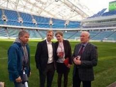 Делегация ФИФА находится с пятым инспекционным визитом в Сочи