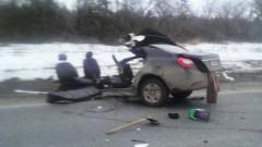 При ДТП под Ульяновском погибли три человека