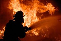 В Краснодаре произошел пожар в промышленном здании